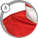 Ochranný oblek na tryskání - detail