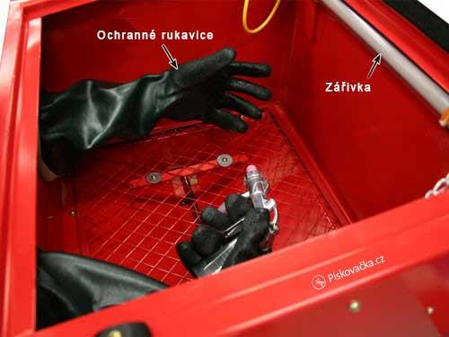 Stolní pískovací box SSK 1