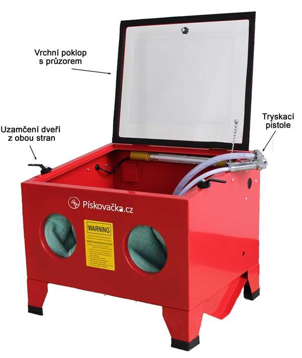 Písskovací box stolní SBC90