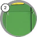 Injektorová pískovací kabina CAB SD - detail