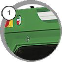 Injektorový pískovací box CAB - detail