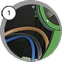 tlaková kabina na pískování - detail