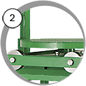 tlaková pískovací kabina cab model PT
