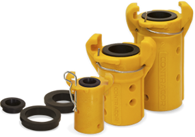 Tryskací zařízení DBS-25 RC/DBS-50 RC - rychlospojky cqp